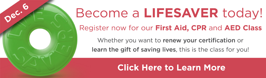 Become a Lifesaver Today!