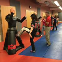 Women in Safety Self-Defense Training