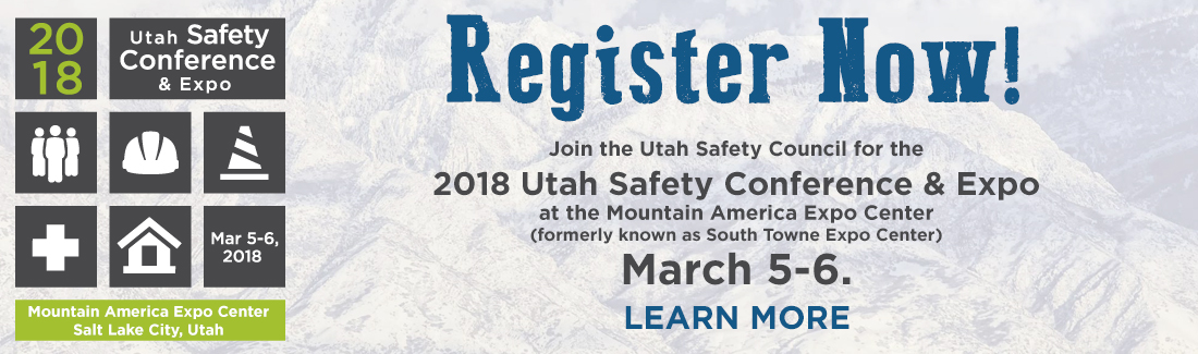 2018 Safety Conference Register Now