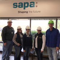 Sapa Extrusions Tour